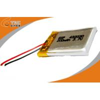 Quality Lipo Battery  Rechargeable LP052030 3.7V 200mAh Polymer Lithium For Bluetooth for sale
