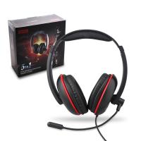 Buy cheap Genik Play Gaming Accessories 4 In 1 Stereo Gaming Headset Headphones With Mic / Light product