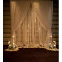 Buy cheap Indoor and Outdoor led curtain led light black curtain Star cloth lighting for from wholesalers