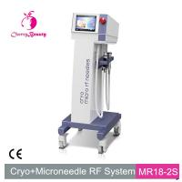 Buy cheap cryo micro rf needles skin tag removal pore minization acne scar reduction MRF SRF machine product