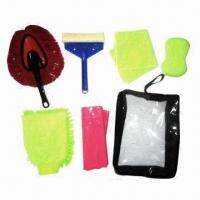 Buy cheap Car Wash Kit with Microfiber Sponge, Easy to Use product
