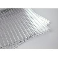 Buy cheap Unbreakable Two Layers Clear Sheets Polycarbonate Eave 10 Years Warranty product