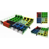 Buy cheap 357M2  Children Trampoline Park Fashion Style High Quality Indoor Trampoline Park with Foam Pit for Kids and Adults from wholesalers