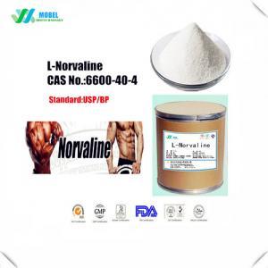 China Crystalline L Norvaline Powder , Essential Amino Acids SupplementCAS 6600 40 4 on sale