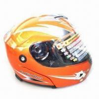 Buy cheap Flip-up Helmet with Large Eye Port Opening for Greater Visibility, DOT-/CE-approved product