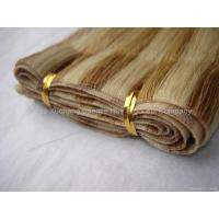 Buy cheap tape hair weave remy hair garde AAA product