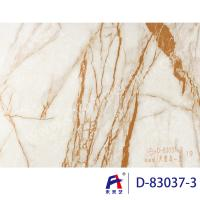 Buy cheap Durbale Marble Grain Pvc Film Roll Suitable Wall Panel Convenient Construction product