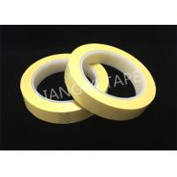 Buy cheap Light Yellow Polyester Mylar Tape With Flame Retardant 0.055mm Thickness from wholesalers
