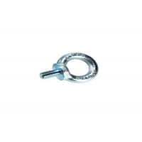 Buy cheap 410 Stainless Steel Lifting Screw Eye Bolt , M10 Ni-Plated Screw Nut Bolt product