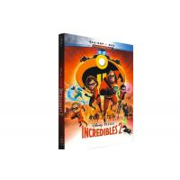 Buy cheap Incredibles 2 Blu-ray DVD Disney Movie Cartoon Comedy Adventure Series Animation Blyu-ray DVD product