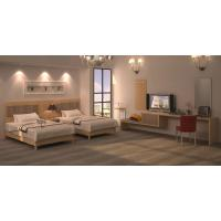 Buy cheap High End Luxury Hotel Furniture Twin Bedroom Furniture Sets with MDF wood product