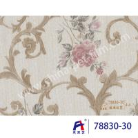 Buy cheap PVC  Coating  Film  0.12-0.14mm thickness PVC Decorative Film  Red flowers product