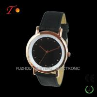 Buy cheap Fashion Leather Strap Quartz Wrist Watch For Young Ladies from wholesalers