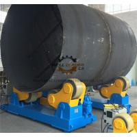 Buy cheap 50 Ton Automatic Adjusting Self Aligned Welding Rotator Low Motor Power from wholesalers