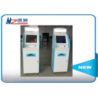 Android system self service visa kiosk with A4 laser printer used in airport