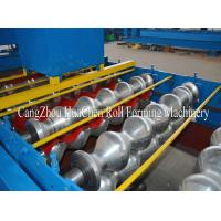 Buy cheap 1250 Width Metal Roll Forming Machines / 15 Rows Tile Making Machinery product