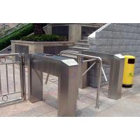 China LED Indicate Access Control Tripod Turnstile Gate / CE Waist Height Turnstiles on sale