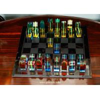 Buy cheap Custom Transparent Colorful Import Lucite Acrylic Chess Set from wholesalers