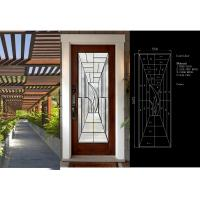 Buy cheap Primed White Decorative Panel Glass For Doors , Sidelights , Transoms from wholesalers