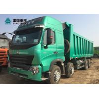 Buy cheap SINOTRUK Euro 4 420HP 8x4 12 Tyre High Roof Cab With Double Bunker HOWO A7 Dump from wholesalers