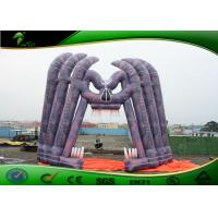 Buy cheap Giant Halloween Horror Skull Inflatable Arches Strongest PVC / Oxford Cloth product