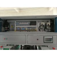 Buy cheap Double Lane Toilet Paper Roll Cutting Machine Siemens PLC Control Touch Screen product