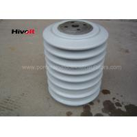 Buy cheap Porcelain Post Insulators With Steel Inserts , Bus Post Insulator Grey Color product