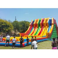 Buy cheap Commercial Use Inflatable Slide With Lovely Cartoon Models For Children from wholesalers