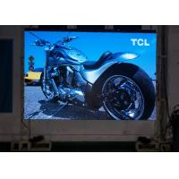 China Light Duty Slim 6mm Mobile Stage LED Screens 4000HZ Refresh Rate 15mm Thinckness on sale