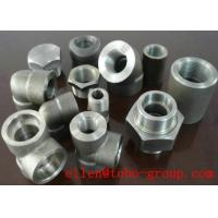 Buy cheap ASME B16.11 SW 45 Degree Elbow Stainelss Steel Pipe Fittings DN6 - DN100 3000LB product