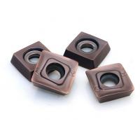 Buy cheap Internal And External Carbide Tool Inserts , Indexable Inserts Used In Cnc Tooling product