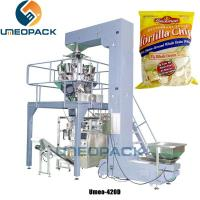 China Automatic Low Cost Vertical Pillow Pouch Potato Chips Snack Sachet Multihead Weigher Packing Machine on sale
