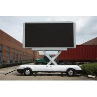 Buy cheap outdoor RGB full color mobile LED display billboard for stage,event,party product