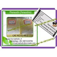 Buy cheap Analgesic-Antipyretic Phenacetin / Fenacetina For Fever Reducing CAS 62-44-2 product