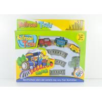 Buy cheap Mini Wind Up Classic Train Set Kids Toy Vehicles with Railway Track 8 Pcs product