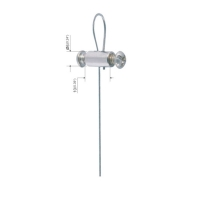 Buy cheap Double Screws Terminals Cable Loop Stainless Steel Wire Rope Fitting YW86030 product