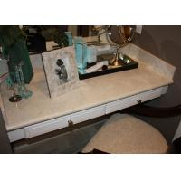 Buy cheap Dresser Table Artificial Stone Tops / Marble Bathroom Vanity Countertops For Sale  product
