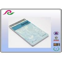 Buy cheap Coated paper cover A6 handmade spiral wire pocket notebook , AI / PDF / CDR product
