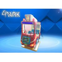 Buy cheap English Version Fire Truck Kiddy Ride Machine Children Swing Car from wholesalers