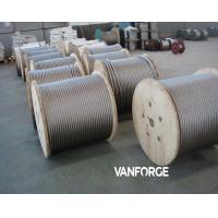 Buy cheap 7x7 Cold drawn Stainless Steel Wire Rope High Tensile Corrosion resisitant product