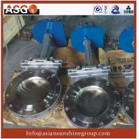 Buy cheap stainless steel Wafer Type Knife Gate Valve-gate Valve-Valve-ASG Fluid Control Equipment from wholesalers