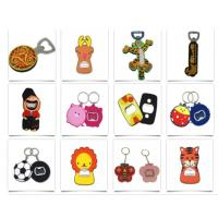 Buy cheap Stainless Steel Bottle Opener with Rubber Coated Personalized Beer Cola Keyring Bottle Opener product