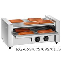 Buy cheap Commercial Hot Dog Grill Machine 5 / 7 / 9 / 11 Rollers , Electric Hot Dog Roller Machine product