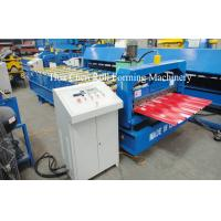 Buy cheap Automatic IDT Roof Tile Roll Forming Machine product