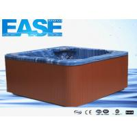 Buy cheap Acrylic square whirlpool massage bathtub outdoor hydro hot tub, 2100 * 2100 * 920mm H product