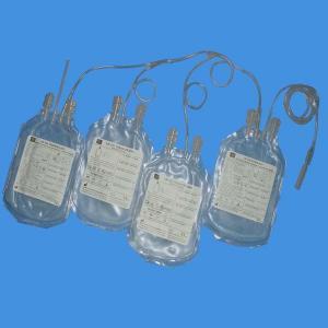 Buy cheap Disposable Quadruple Blood collection Bag product