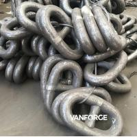 Buy cheap Marine Offshore Alloy Steel Offshore Mooring Chain Natural Color / Painted product