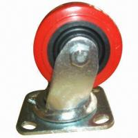 Buy cheap PU Caster with PP Core and Roller Bearing product