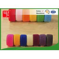 Buy cheap Double sided hook and loop tape 10 ~ 50mm nylon mix polyester / nylon hook and loop product