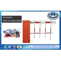 Buy cheap 2 Fence Vehicle Security Barriers Access Control / Roadway Traffic Gate 80w Motor from wholesalers